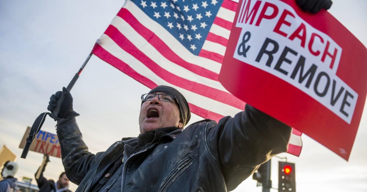 Trump Anklage bringt Jubel in Kalifornien, mit einigen Ausnahmen