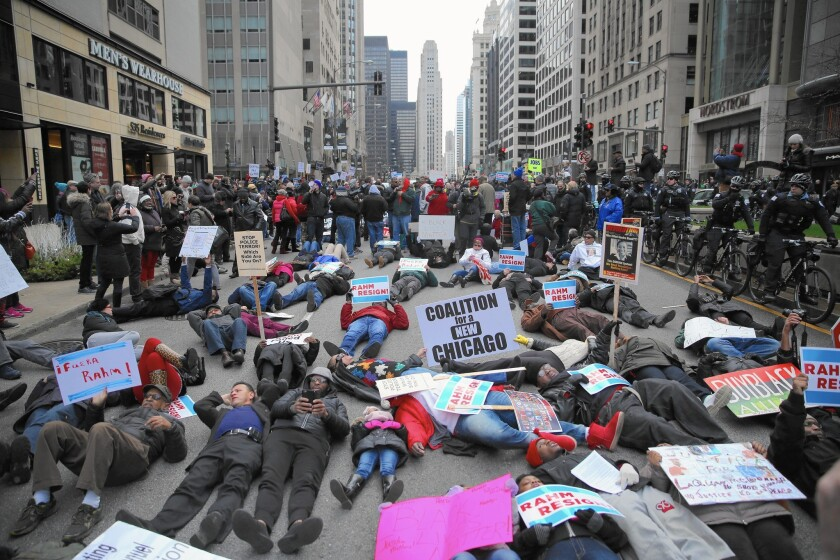 Chicago protest