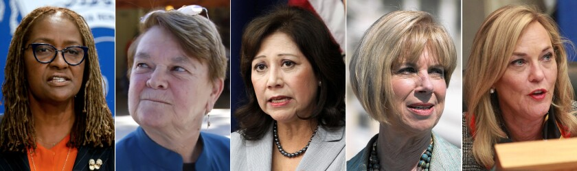 Los Angeles County supervisors