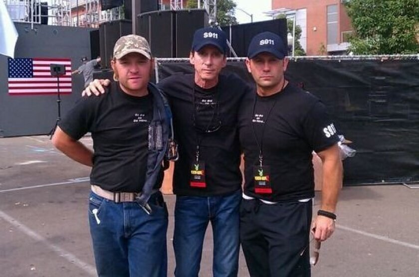 Amus Carver, Gregg Sargeant, Scott Schecter of Stunts 911 in Hollywood rescued a suicidal woman.