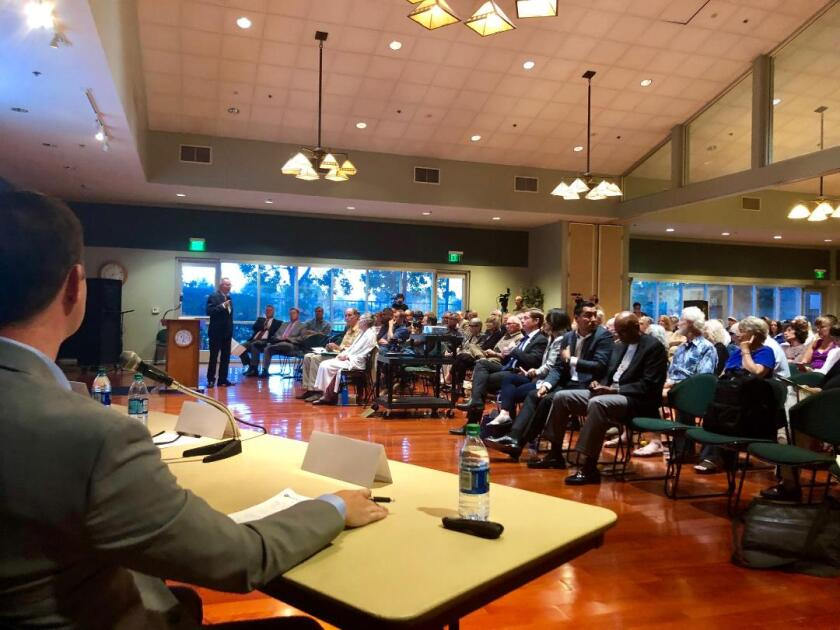 The Nuclear Regulatory Commission hosted a town hall in San Juan Capistrano Tuesday, Aug. 20. to discuss operations at the San Onofre Nuclear Generating Station