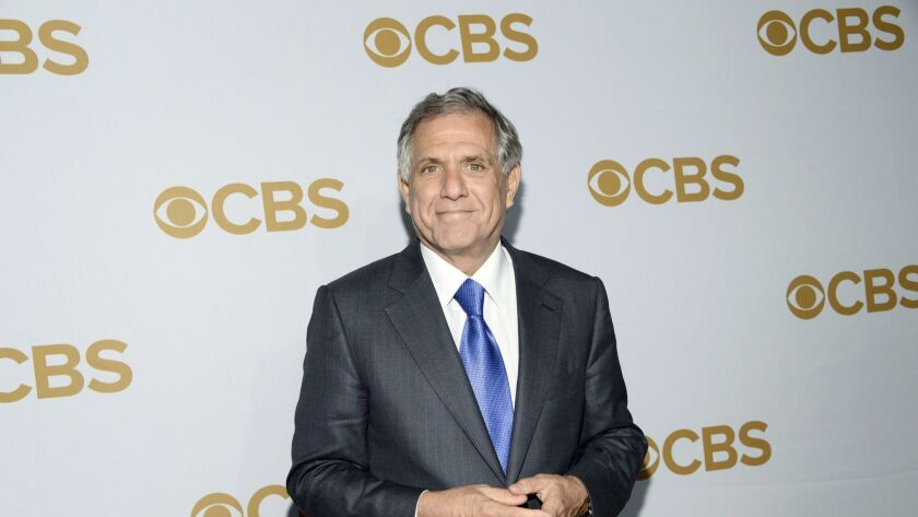 Leslie Moonves attends the CBS Network 2015 Programming Upfront at The Tent at Lincoln Center in New York on May 13, 2015.