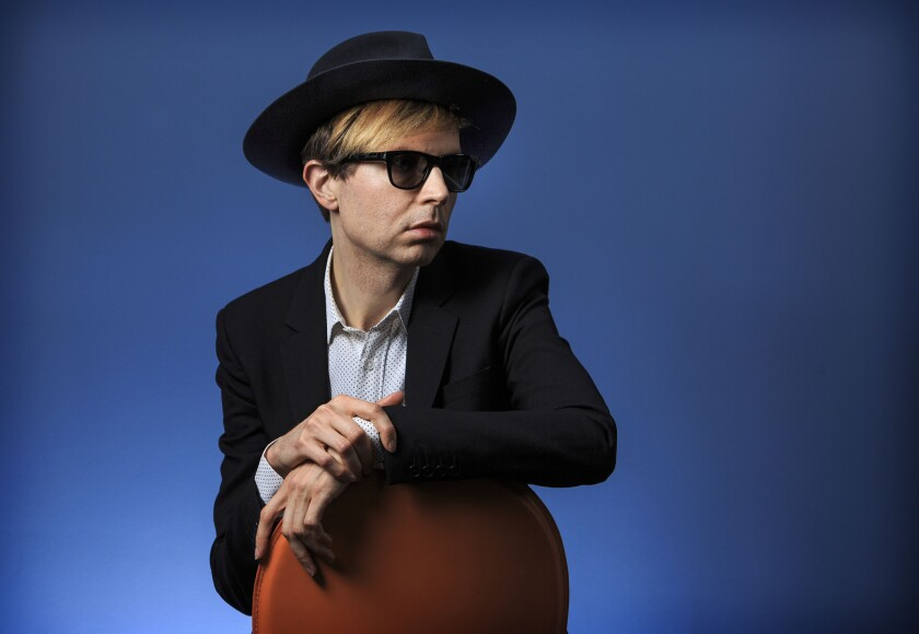 "Beck's ""Morning Phase"" is nominated for album of the year at Sunday's Grammy Awards."