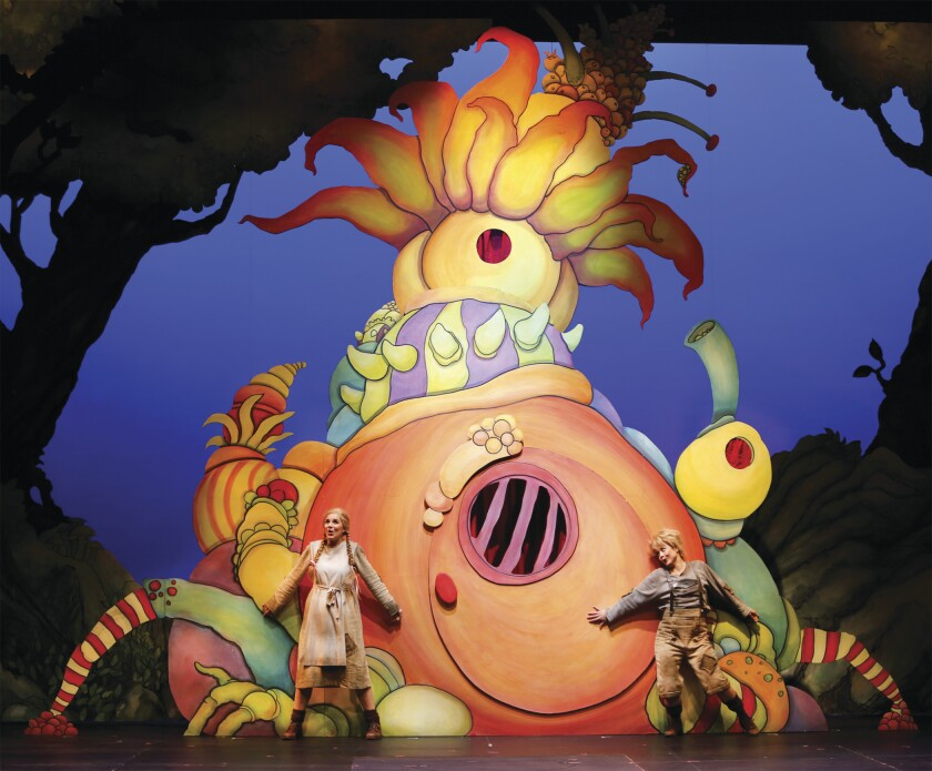 """A scene from San Diego Opera's """"Hansel and Gretel,"""" playing Feb. 8 through 16, 2020, at the San Diego Civic Theatre as part of the 2019-2020 season."""