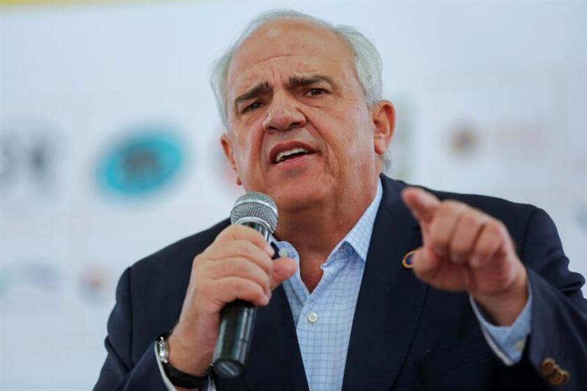 El secretario general de la Unión de Naciones Suramericanas (Unasur), Ernesto Samper. EFE/Archivo