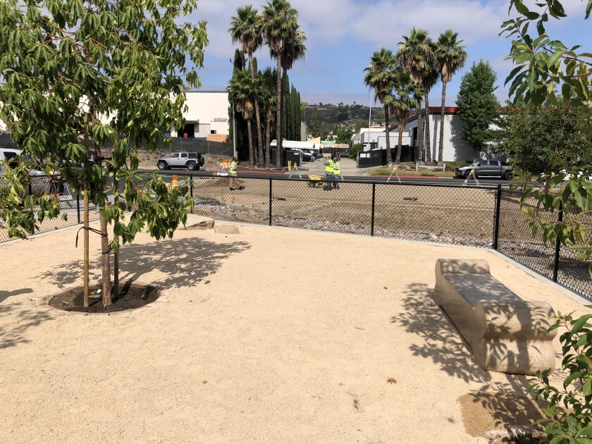 El Cajon's North Marshall Dog Park was named Project of the Year by the American Public Works Association.