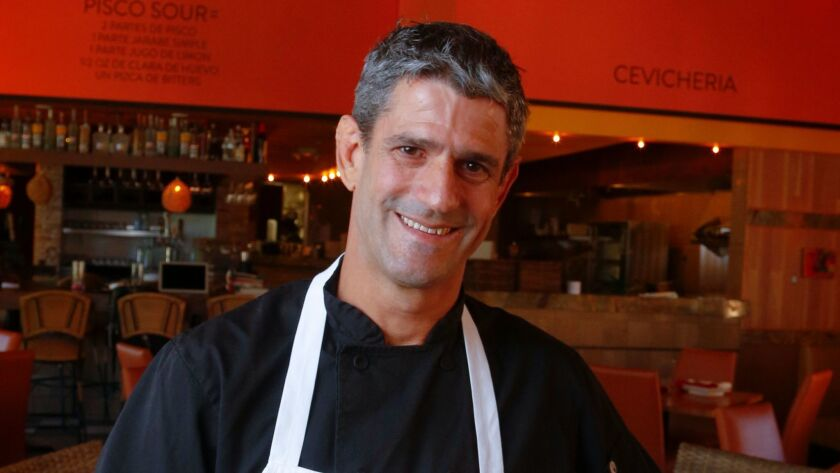 Emmanuel Piqueras Pisco, executive chef at the Pisco Rotisserie & Cevicheria at Liberty Station in P