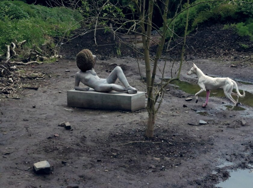 """Untilled"" by Pierre Huyghe"