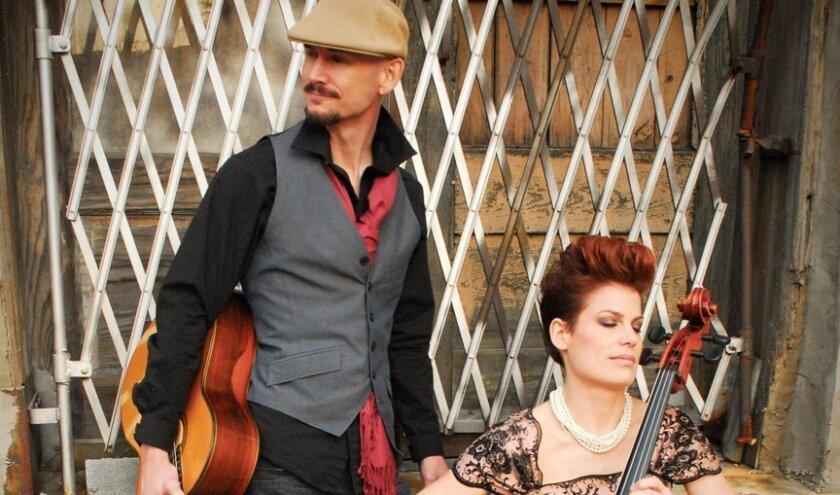 Jonathan Adams and Jennifer Adams bring their guitar-cello fusion to Temecula.