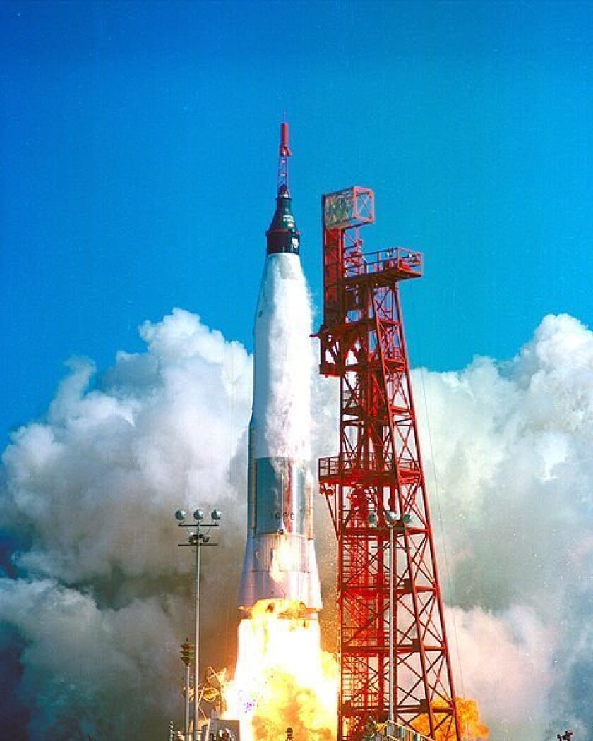 Convair built the Atlas rocket that successfully carried Mercury astronaut John Glenn into space in February 1962.