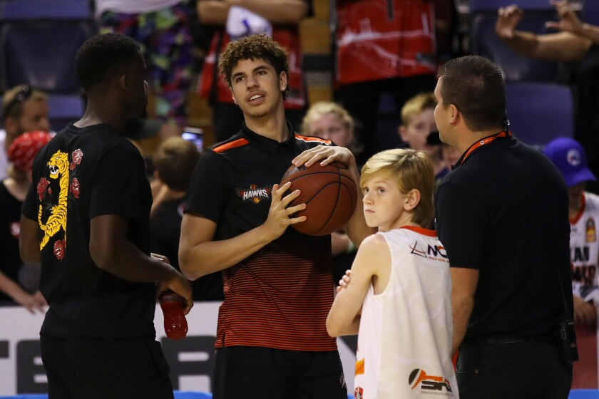 Illawarra Hawks' Lamelo Ball is finished for the season, his manager said Wednesday.