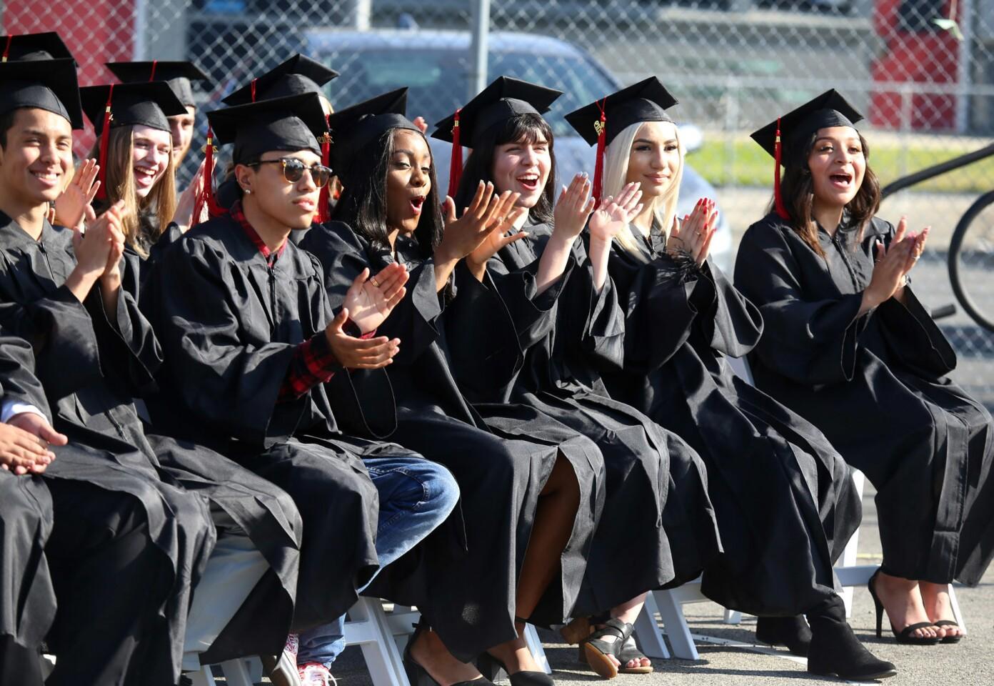 Photo Gallery: Monterey High Class of 2019 graduates