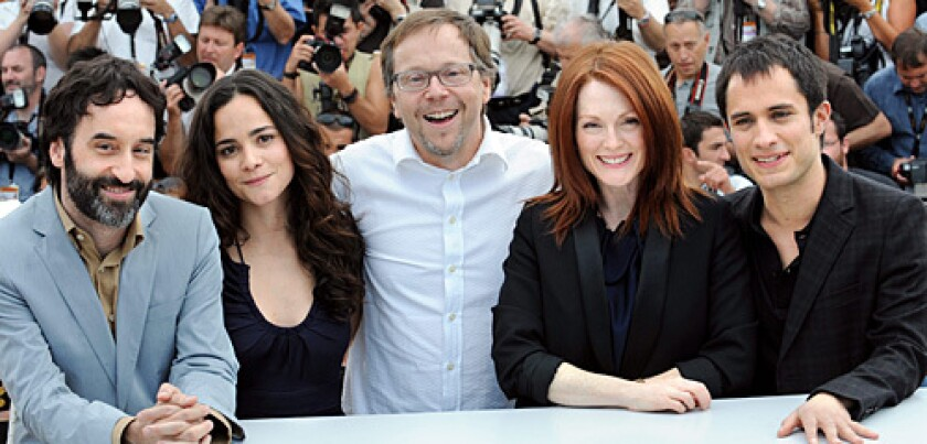 Blindness,  Don Mc Kellar, Alice Braga, director Fernando Meirelles, Julianne Moore, Gael Garcia Bernal