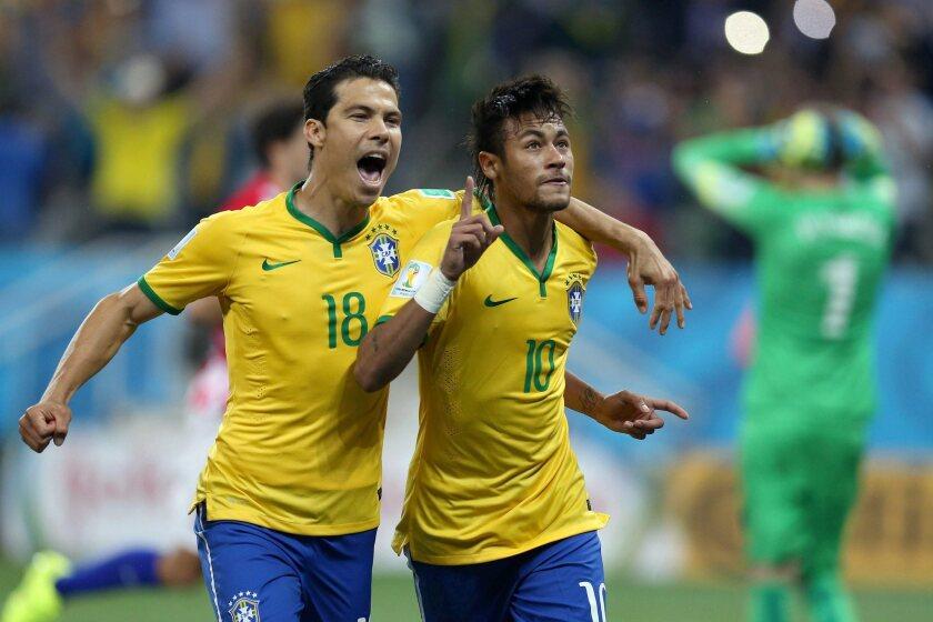 Hernanes, Neymar