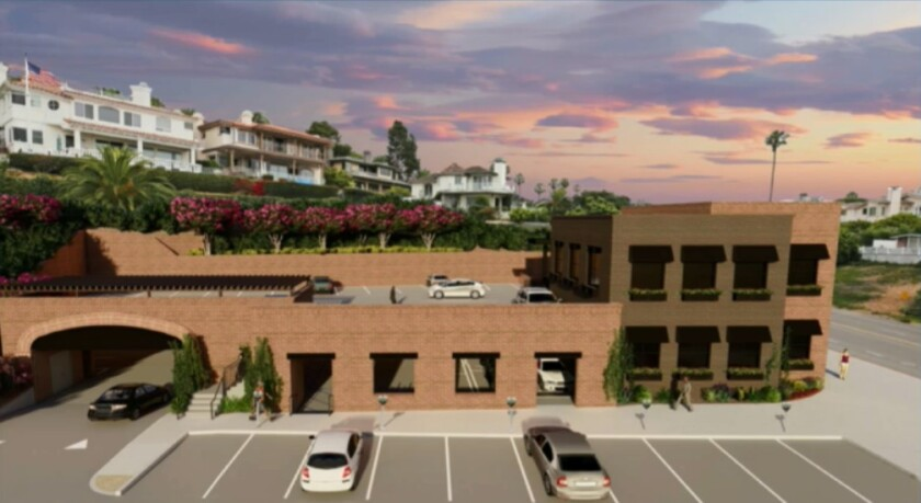 A rendering shows the proposed office building with adjoining parking garage on Riverside Avenue.