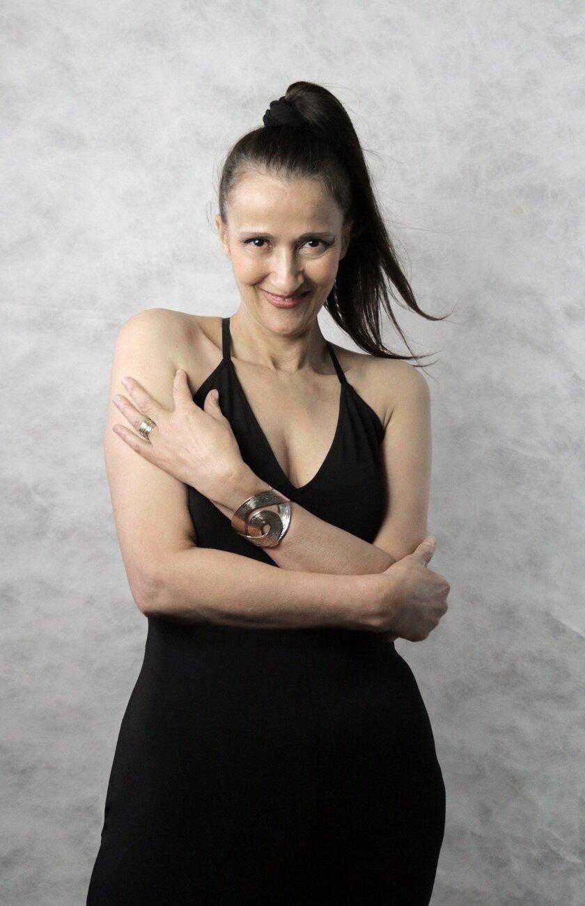 Jazz singer Tessa Souter