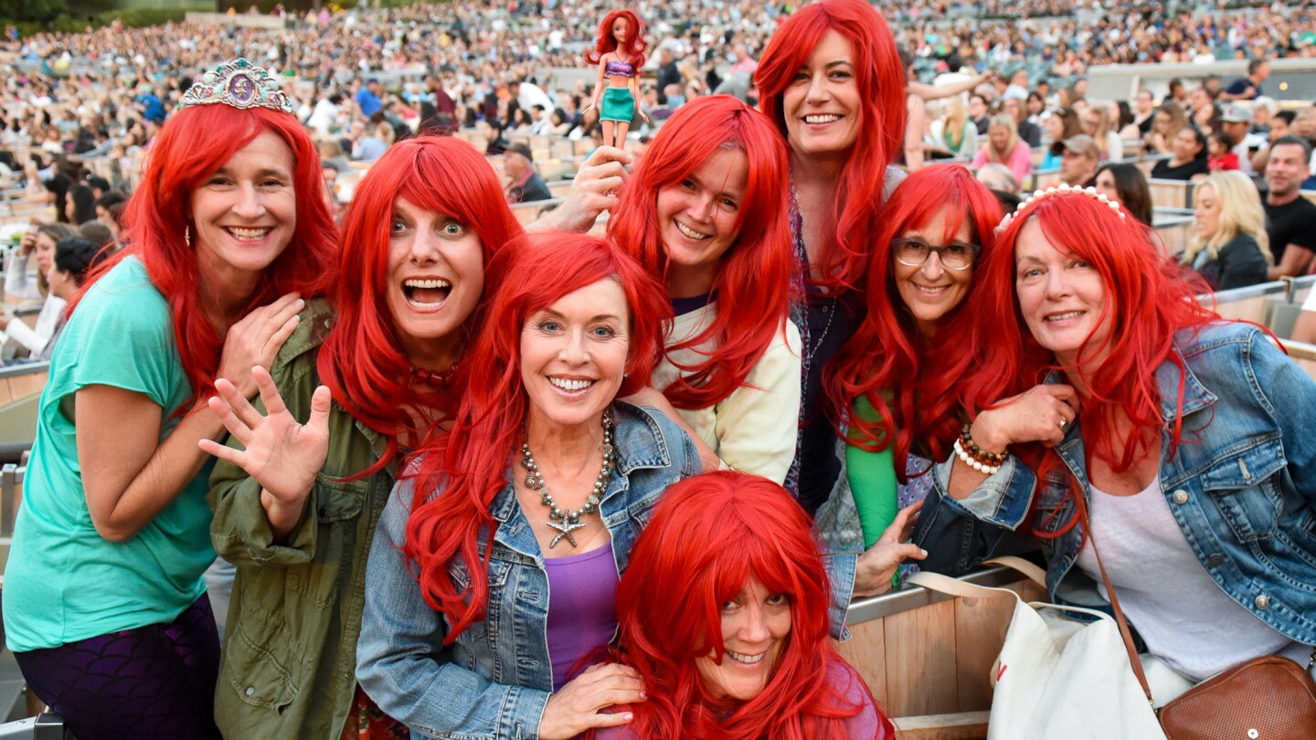 'Disney's The Little Mermaid in Concert' at the Hollywood Bowl