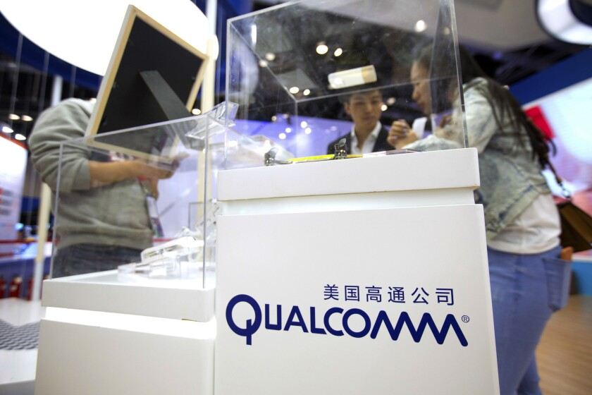 After President Donald Trump blocked Singapore-based Broadcom's takeover of U.S. chipmaker Qualcomm on national security grounds, Broadcom officially dropped its bid.