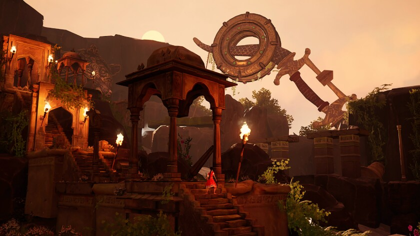 Raji: An Ancient Epic is an action adventure video game.