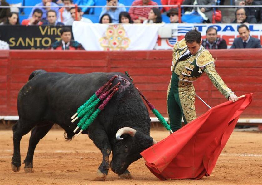 El torero mexicano José Mauricio. EFE/Archivo