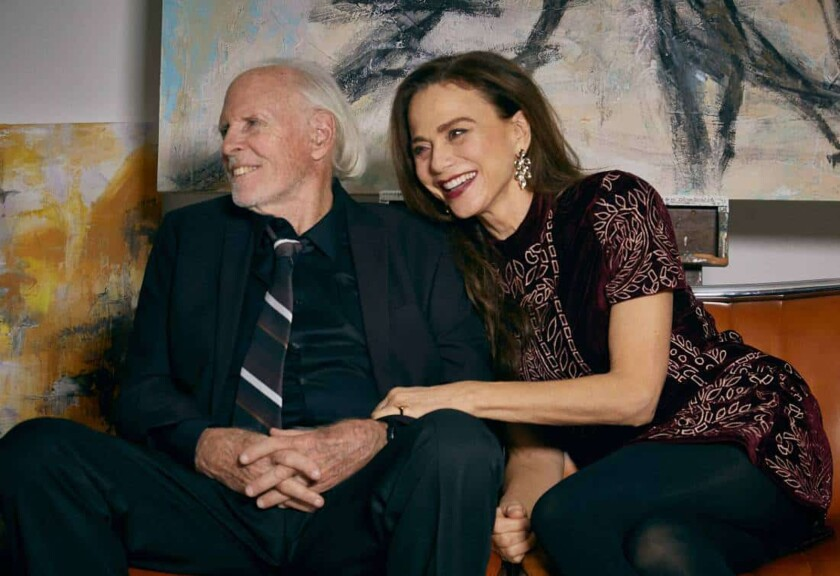 """Bruce Dern and Lena Olin star in the movie """"The Artist's Wife."""""""