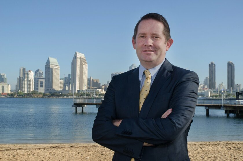 Carmel Valley's Will Moore is running for San Diego City Council District 1.