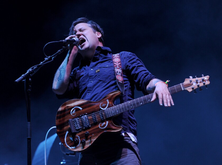 Isaac Brock is the lead singer of Modest Mouse.