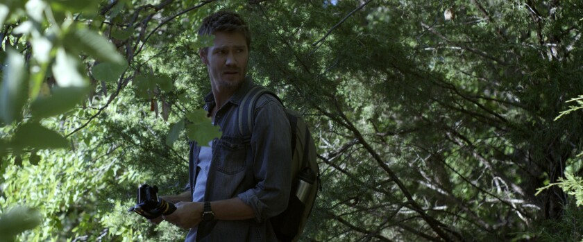 """Chad Michael Murray in the movie """"Camp Cold Brook."""""""