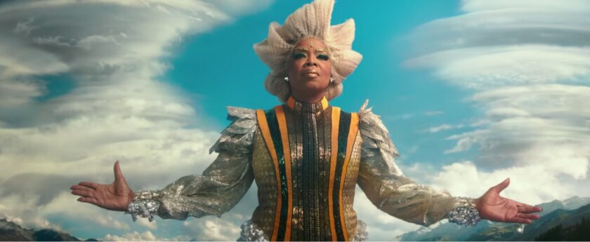 "Oprah Winfrey in ""A Wrinkle In Time"""