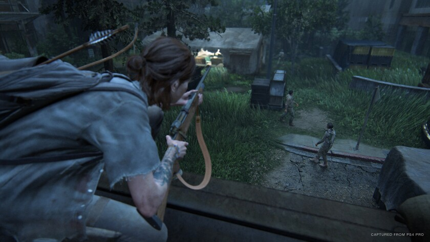 In 'The Last of Us Part II' Ellie is on a revenge mission.