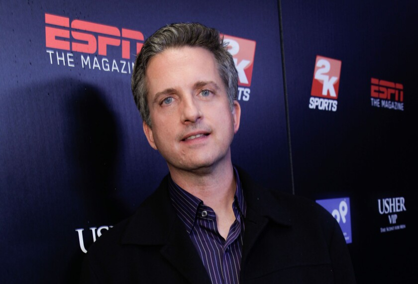 Host Bill Simmons attends the ESPN Magazine's After Dark NBA All-Star Party at My House in February 2011.