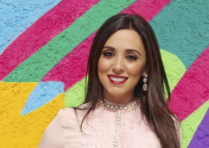 Hanna Jaff, una de las personas que sale en una serie de Netflix sobre jóvenes ricos mexicanos. Ella es filántropa internacional nacida en San Diego.