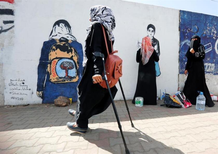 Unas 77.000 personas se han visto obligadas a dejar sus hogares en el suroeste de Yemen por los combates que se viven desde diciembre, según dijo hoy la ONU. EFE/Archivo
