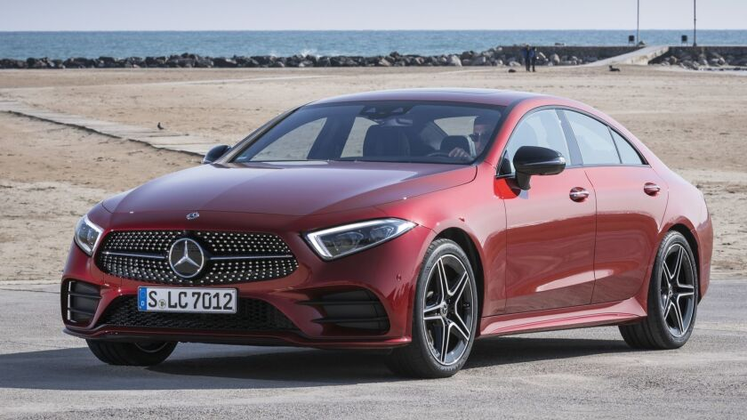 The third generation of the Mercedes-Benz CLS is powered by a completely new inline six-cylinder engine.
