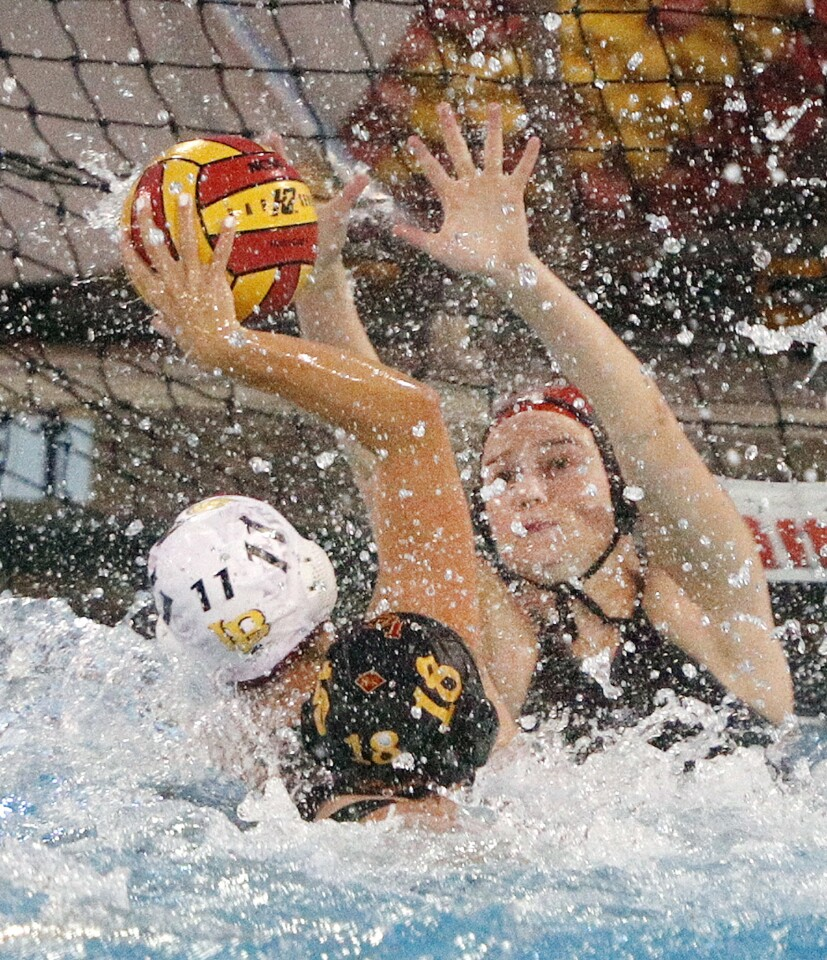 Photo Gallery: La Canada girls' water polo wins CIF Division II first round match against Woodrow Wilson