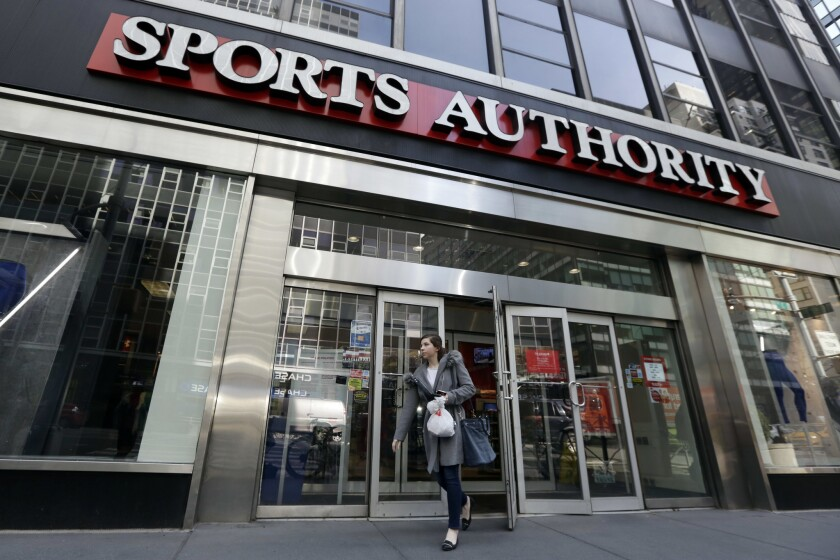 Sports Authority files for Chapter 11 bankruptcy protection