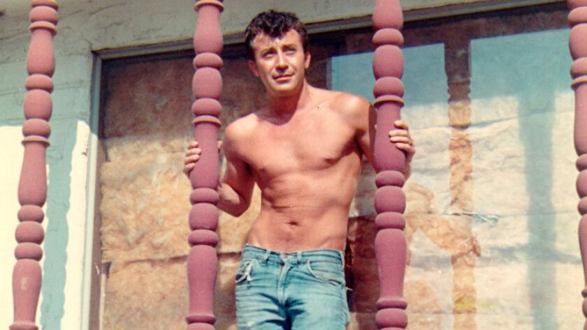 John Rechy in the 1970s in Los Angeles.