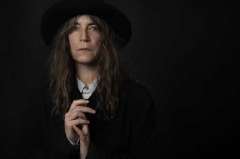 Legendary poet, punk rocker and author Patti Smith will appear at the Spreckels Theatre Oct.13. 'Patti Smith,' 2007 by Edward Mapplethorpe