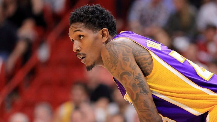 Veteran guard Lou Williams is among the Lakers players who believe they can improve their level of play immediately.