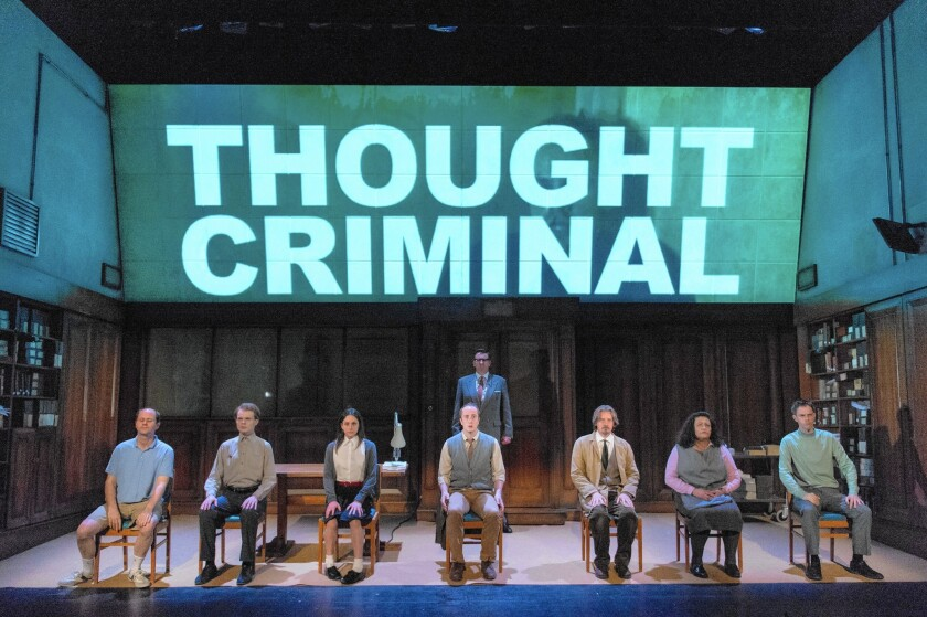 In a new era of surveillance and doublethink, '1984' takes to the stage