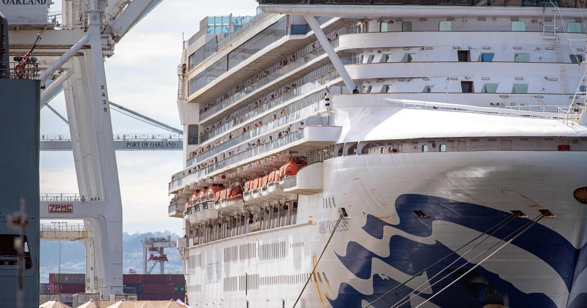 This cruise ship had an infamous coronavirus outbreak. Now, it's set to sail again