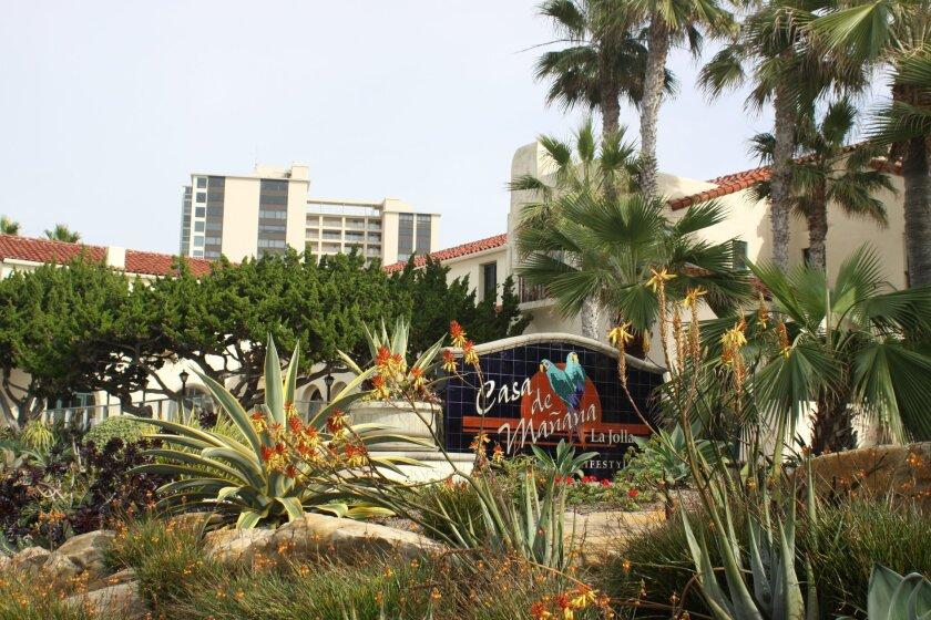 Landscaped and vibrant, Casa de mañana has been in La Jolla for 90 years. Ashley Mackin