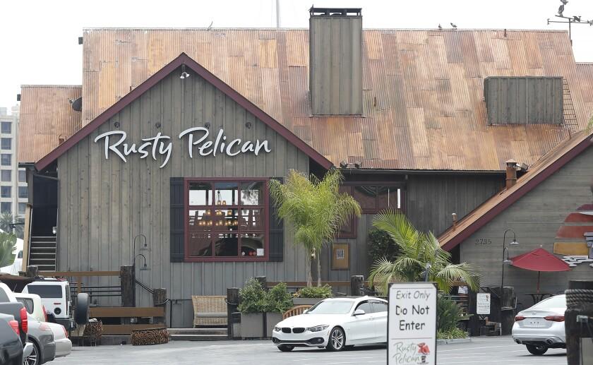 The Rusty Pelican in Newport Beach
