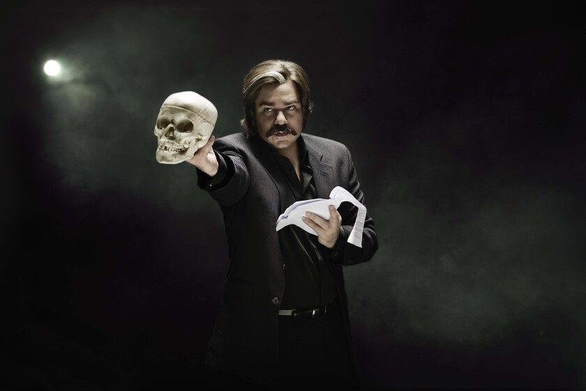 Matt Berry in Toast of London
