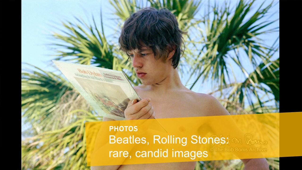 Rare photos of the Beatles, Rolling Stones | Mick Jagger, Savannah, Georgia, May 1965