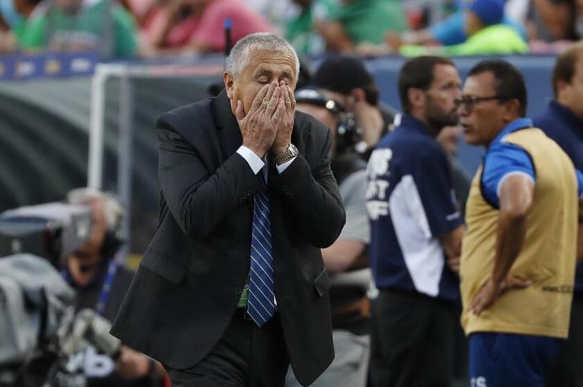 En la imagen, entrenador colombiano Eduardo Lara. EFE/Archivo