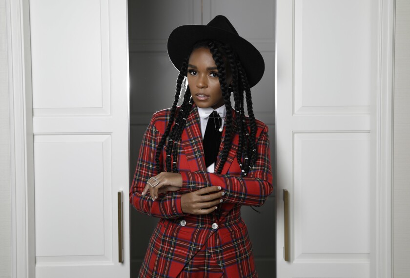 "Janelle Monáe's ""Dirty Computer"" is nominated for album of the year at Sunday's Grammy Awards."