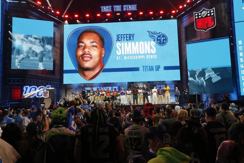 APphoto_NFL Draft Football