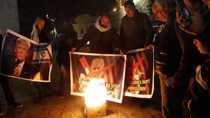 PALESTINIAN-ISRAEL-US-CONFLICT-JERUSALEM-DIPLOMACY