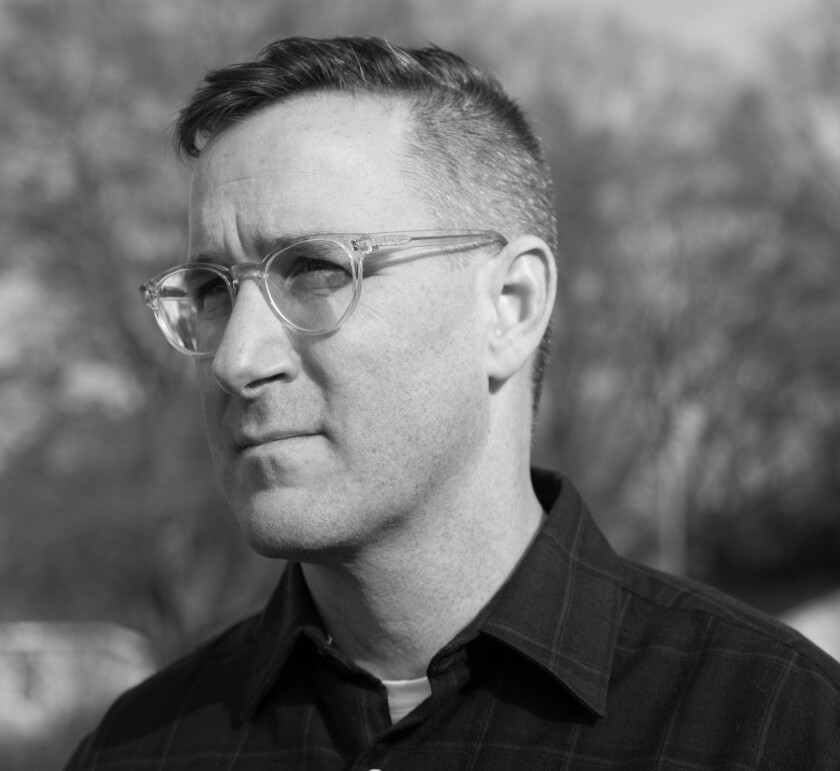 """An author photo of Jeff Jackson for his book """"Destroy All Monsters."""" Credit: Lydia Bittner-Baird"""